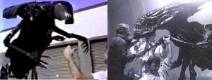 alien queen puppet test and final puppet